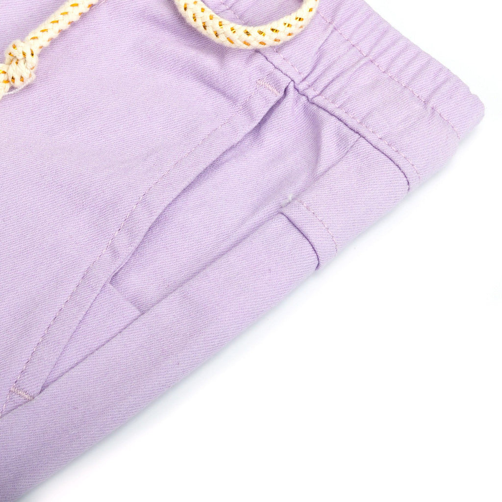 The Pelangi Tapered Pants - Light Purple