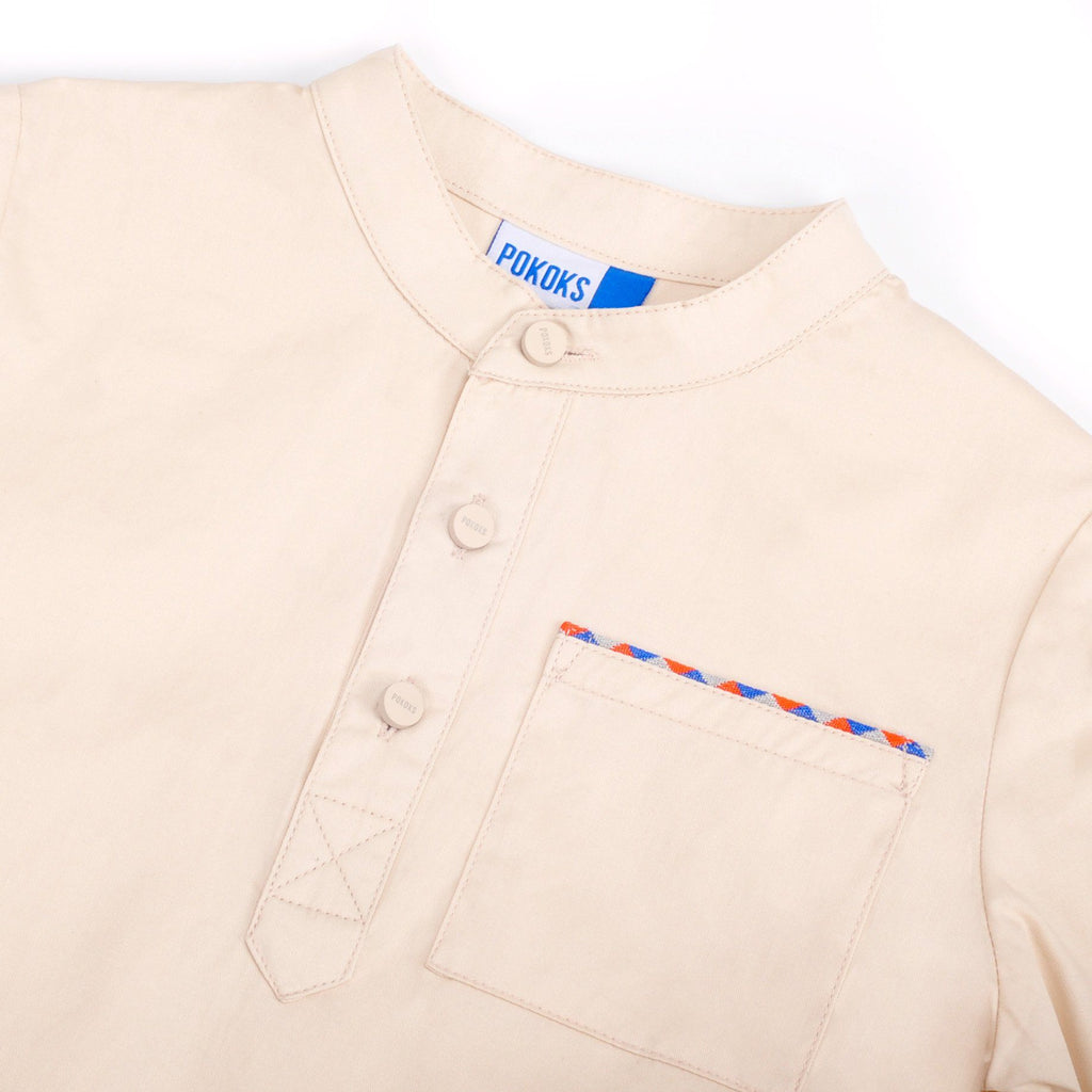 The Pelangi Kurta - Cream