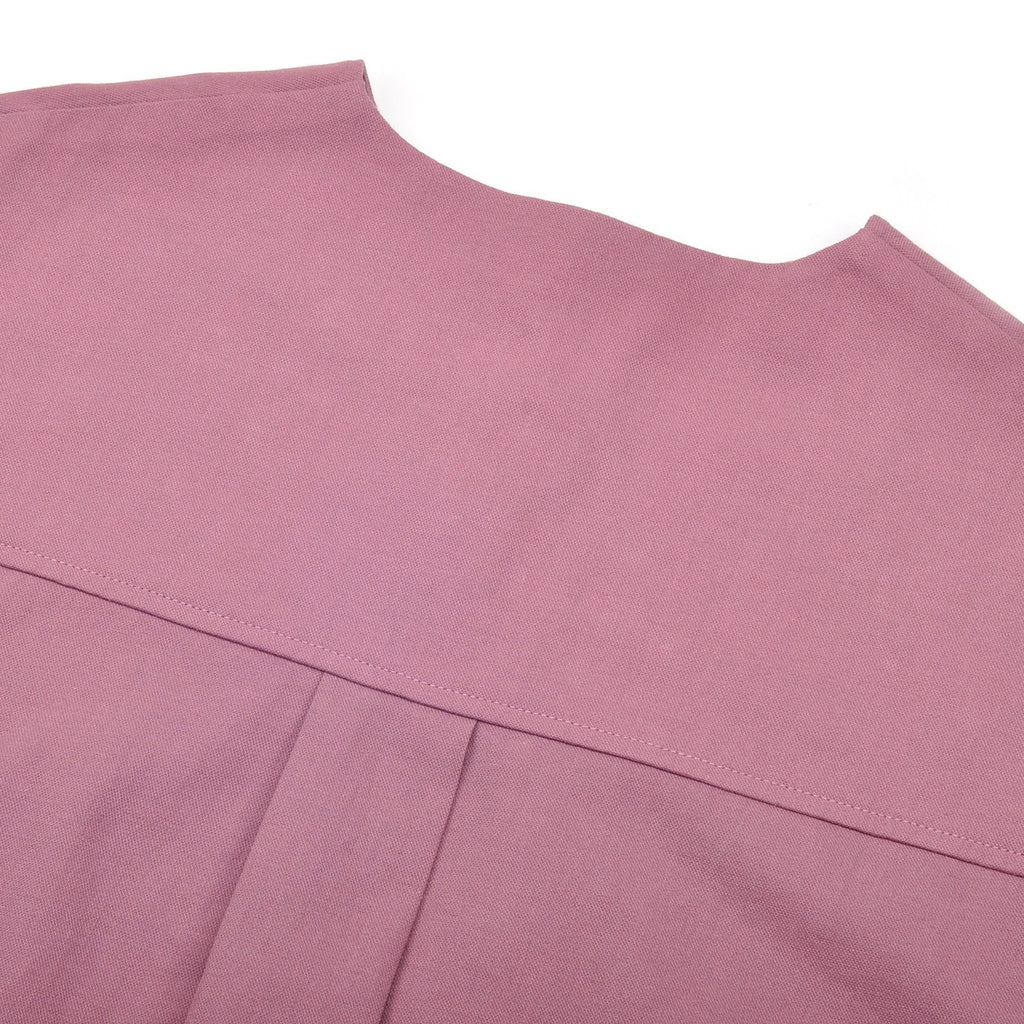 The Pelangi Pair Pockets Blouse - Light Mangosteen