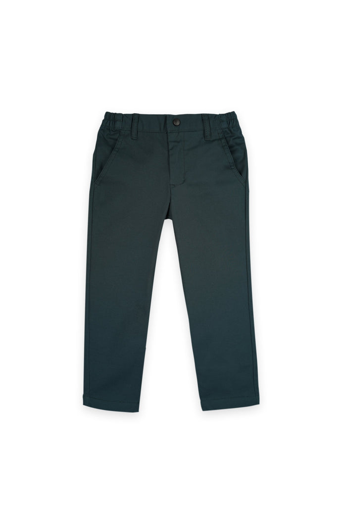 The Bangun Slim Pants - Emerald Green
