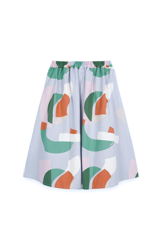 The Bangun A-Line Skirt - Lumi Print