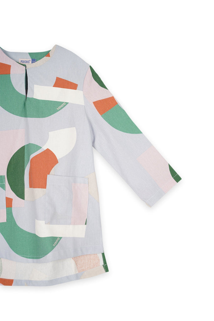 The Bangun Pair Pockets Kurta - Lumi Print