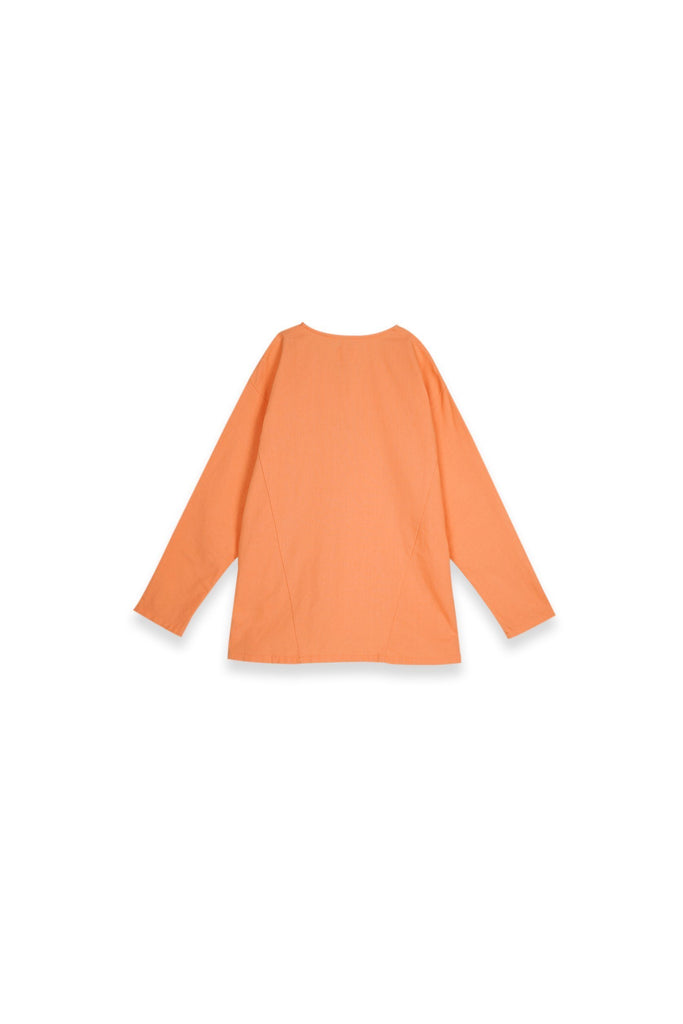 The Teratai Women Kite Blouse - Orange