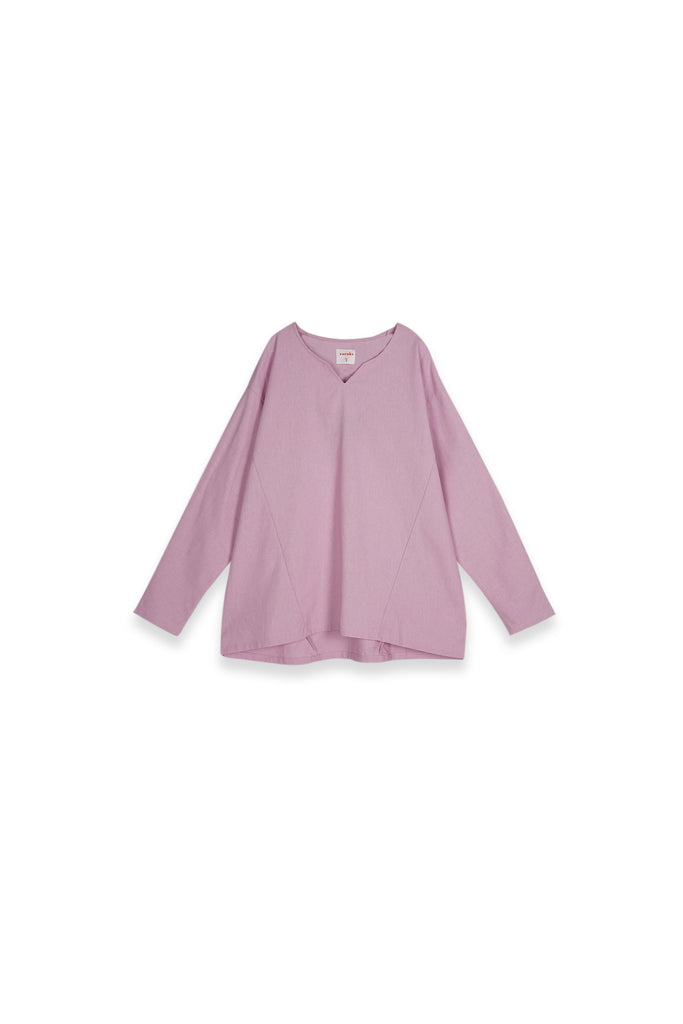The Teratai Women Kite Blouse - Light Purple