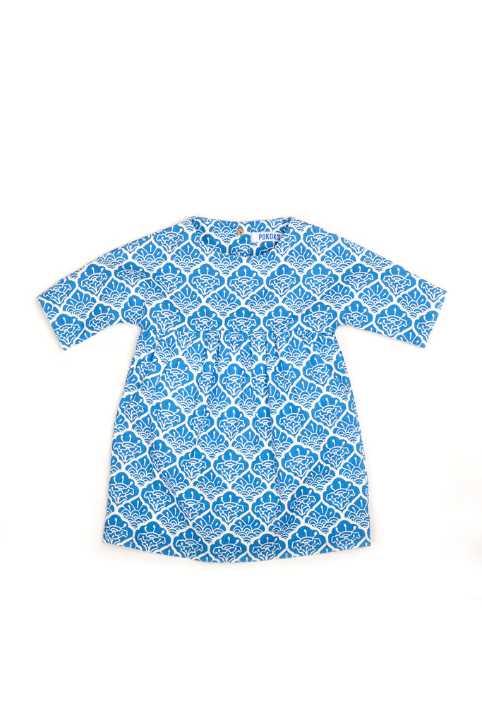 The Pulau Babies Batik Dress - Langkawi Print