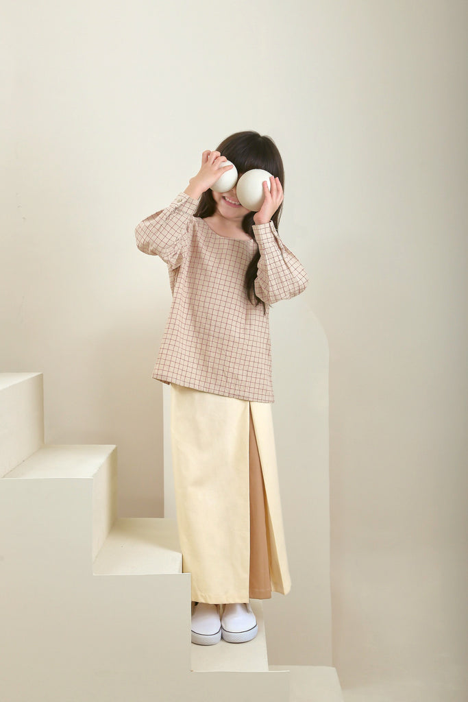 The Oasis Godet Skirt - Cream