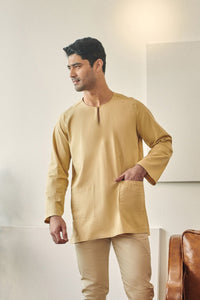 Rasa Sayang Men Kurta - British Khaki