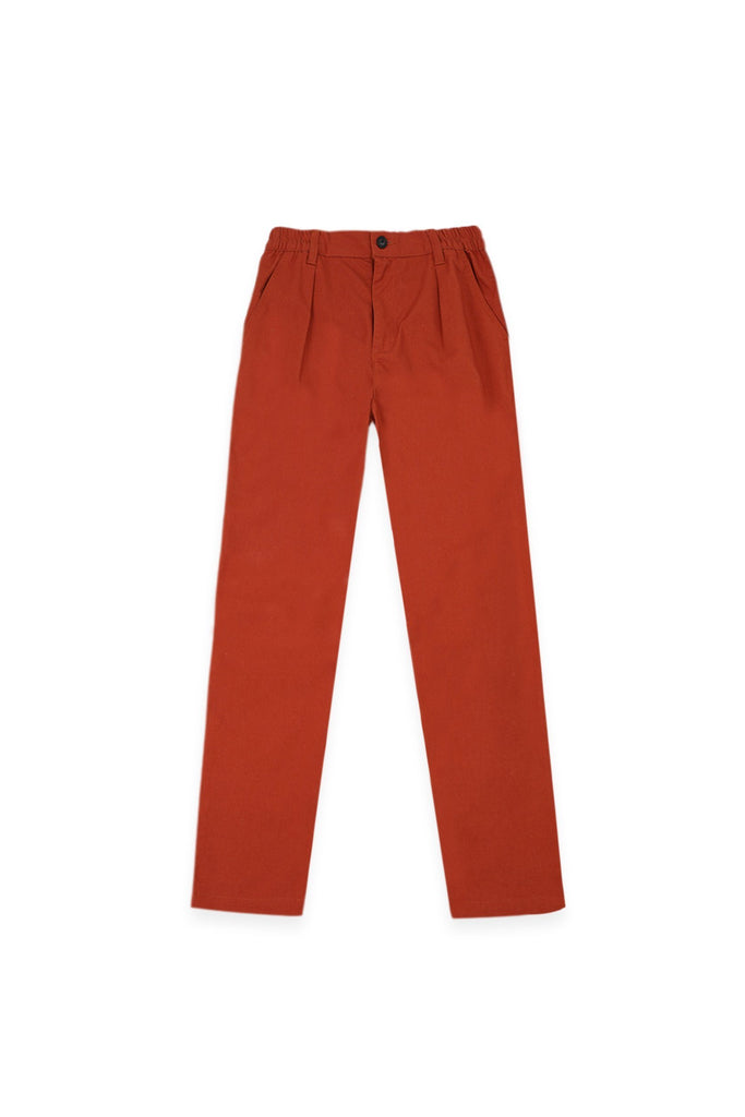 The Bangun Men Tapered Pants - Terracotta