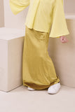 The Nari Mermaid Skirt - Lemon Yellow