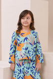 The Nari Tunic Kite Blouse - Glory Print