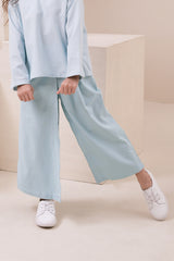 The Nari Overlay Trousers - Light Blue