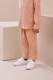 The Nari Tapered Pants - Peach