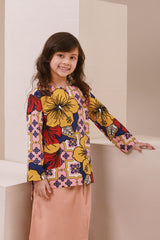 The Nari Kurti With Pockets - Hibiscus Print