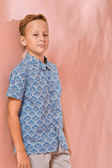 The Pulau Batik Shirt - Langkawi Print