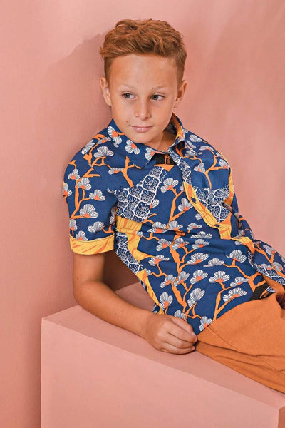 The Pulau Batik Shirt - Sentosa Print