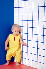 The KITA Babies Jumpsuit - Yellow