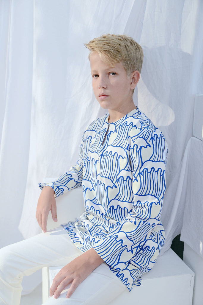 The Bangun Pair Pockets Kurta - Nami Print