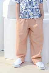 The Bangun Tapered Pants - Peach