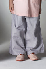 The Serai Palazzo Pants - Grey