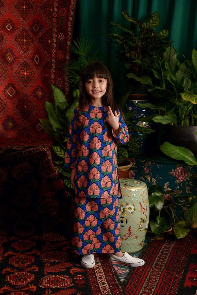 The Teratai Kameez - Secret Pond - POKOKS.COM
