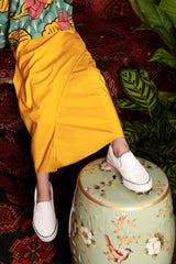 The Teratai Tulip Skirt - Mustard