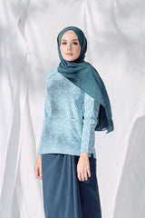 The Langit Women Raglan Sleeve Blouse - Petani