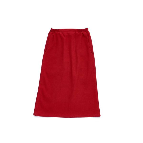 The Limau Skirt - Ruby Red