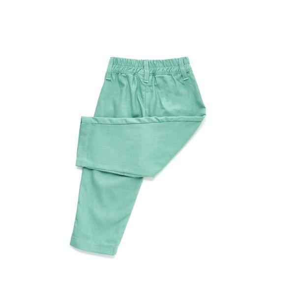 The Limau Tapered Pants - Vegan Green