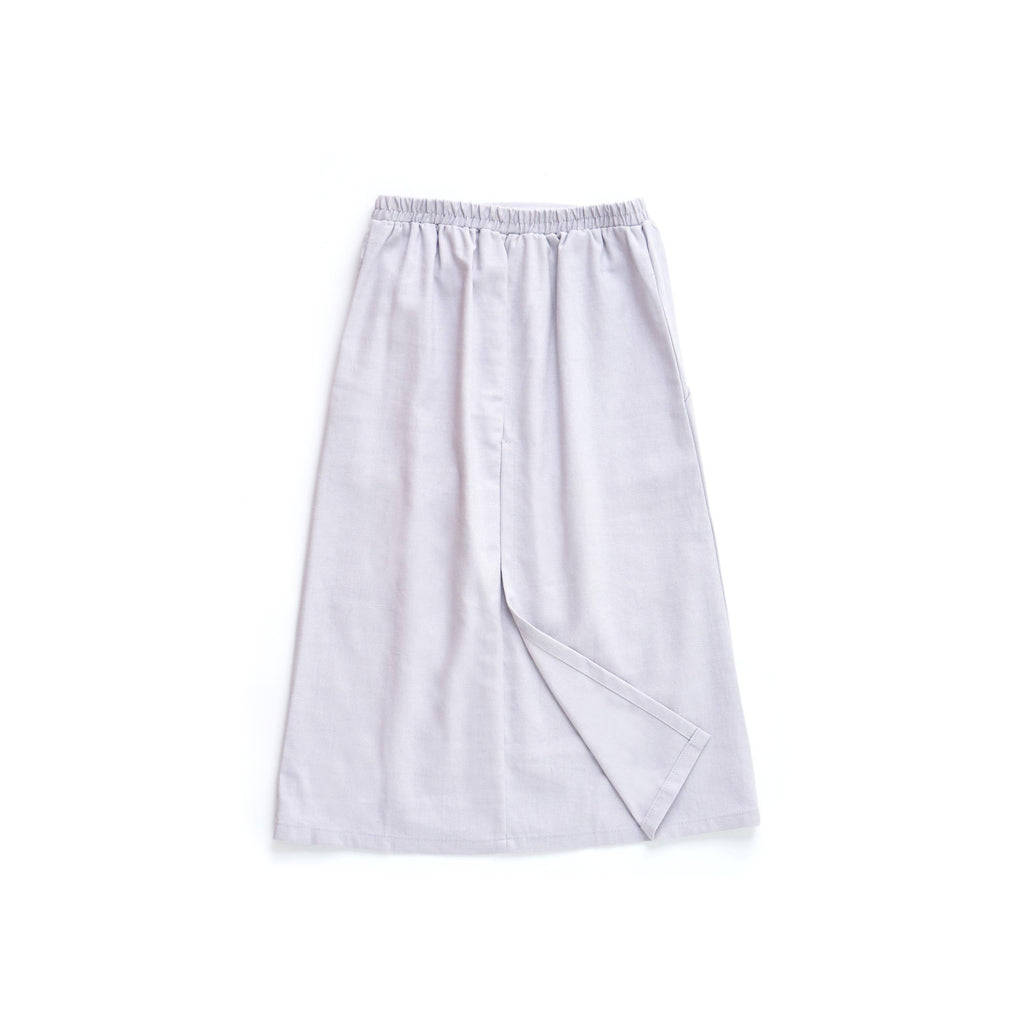 The Limau Skirt - Light Grey
