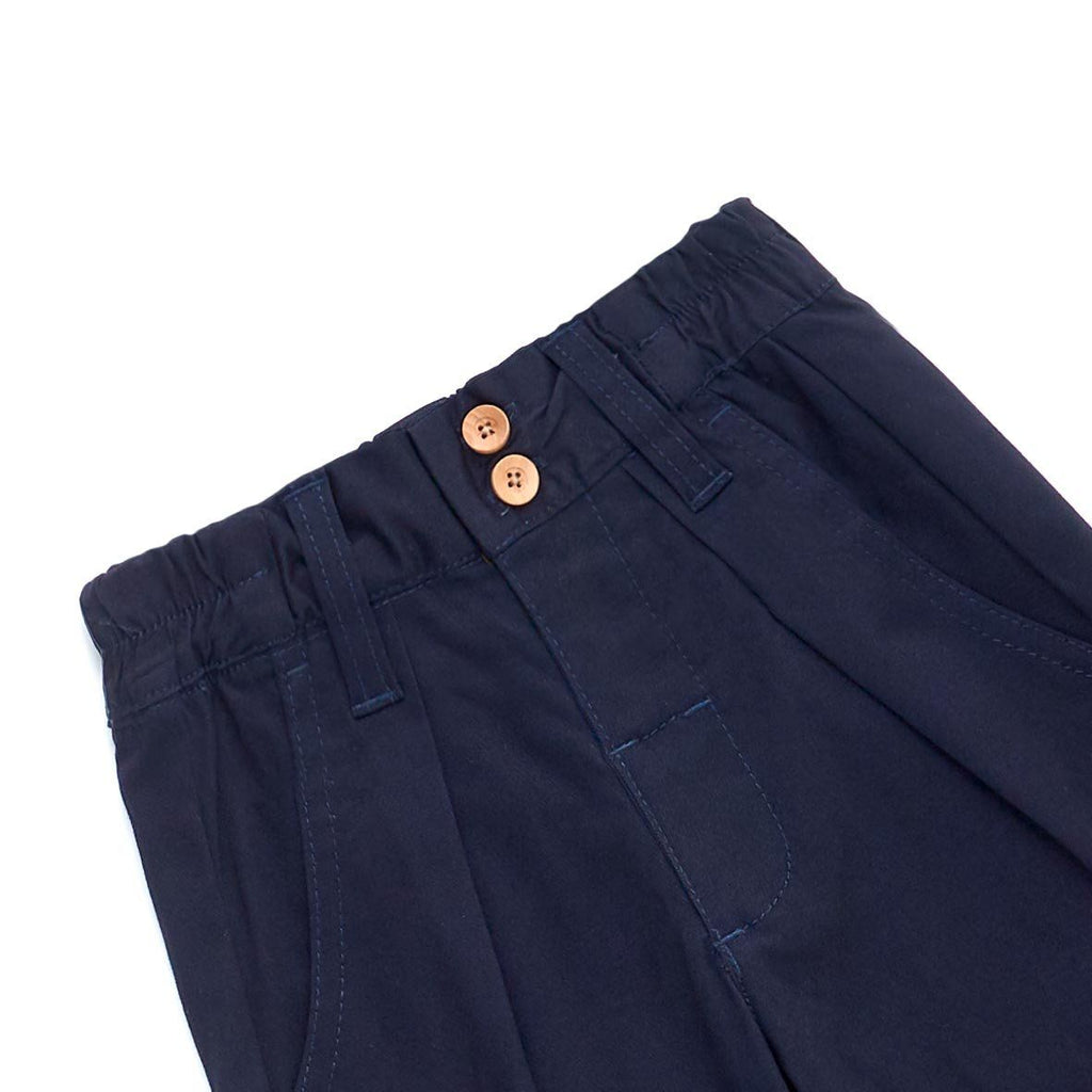 The Limau Tapered Pants - Dark Blue