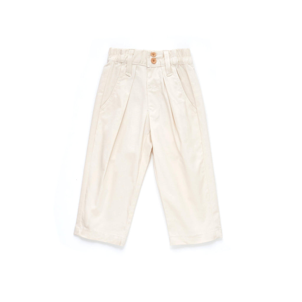 The Limau Tapered Pants - Ivory