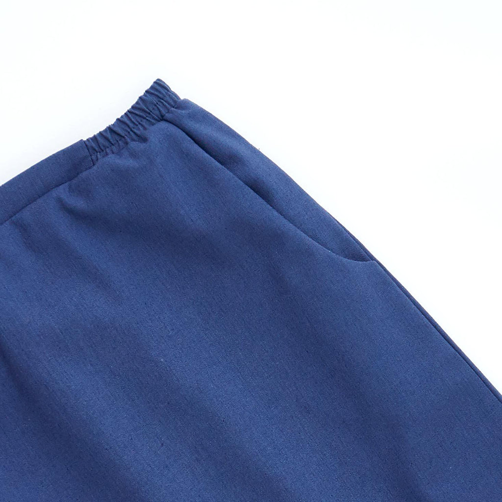 The Limau Skirt - Glaucous Blue