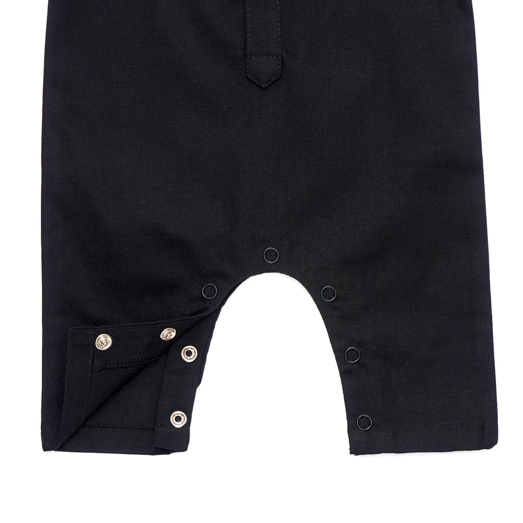 The Cerita Babies Jumpsuit - Black