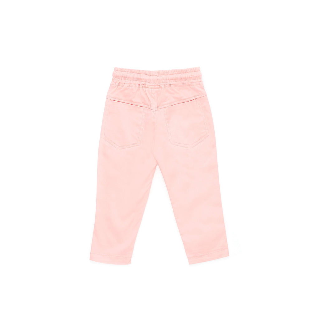 The Cerita Tapered Pants - Peach