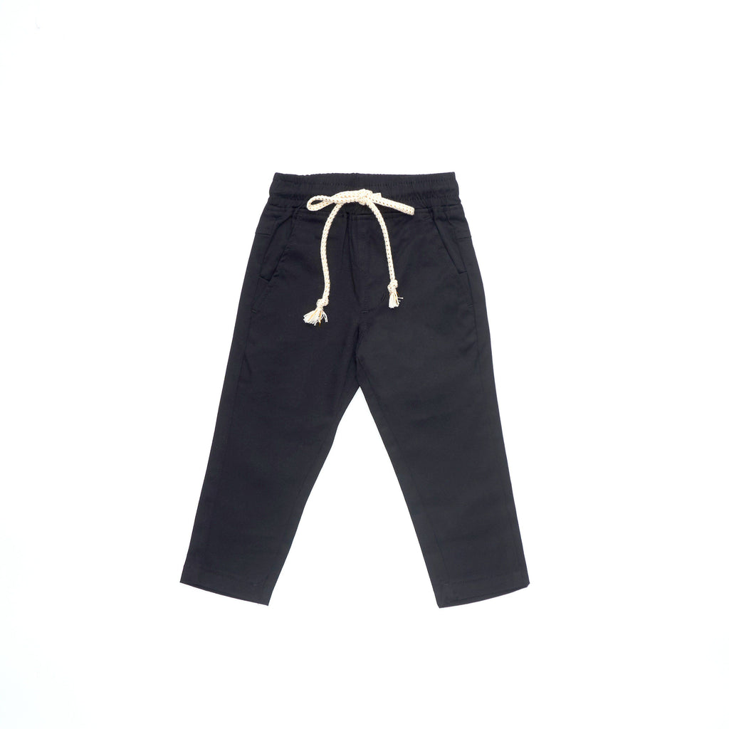 The Cerita Tapered Pants - Black