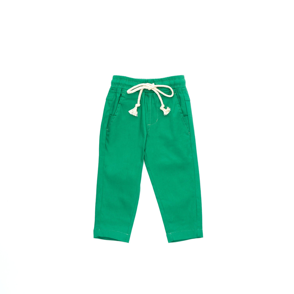 The Cerita Tapered Pants - Pandan Green