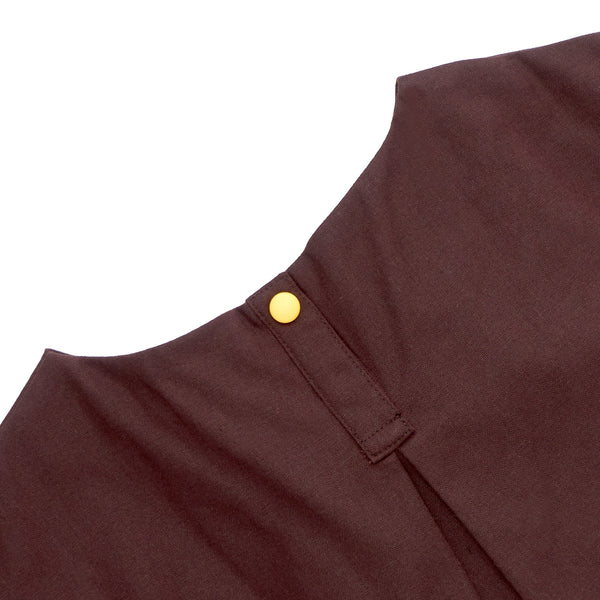 The Cerita Babies Mini Kurung - Walnut Brown