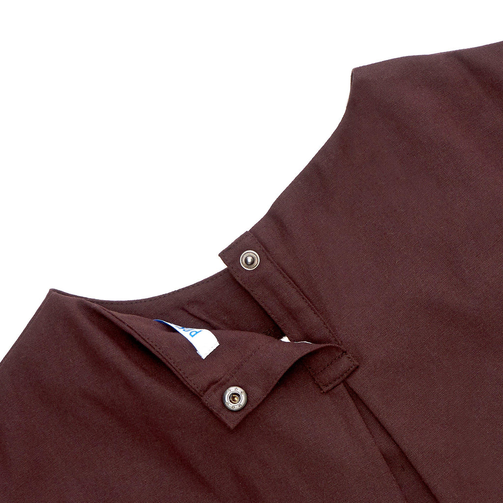The Cerita Baby Hi-Lo Blouse - Walnut Brown