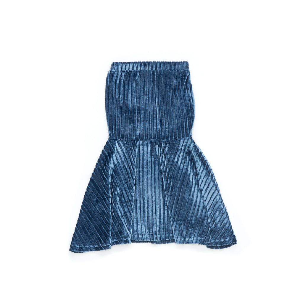 The Cerita Mermaid Skirt - Stella Blue