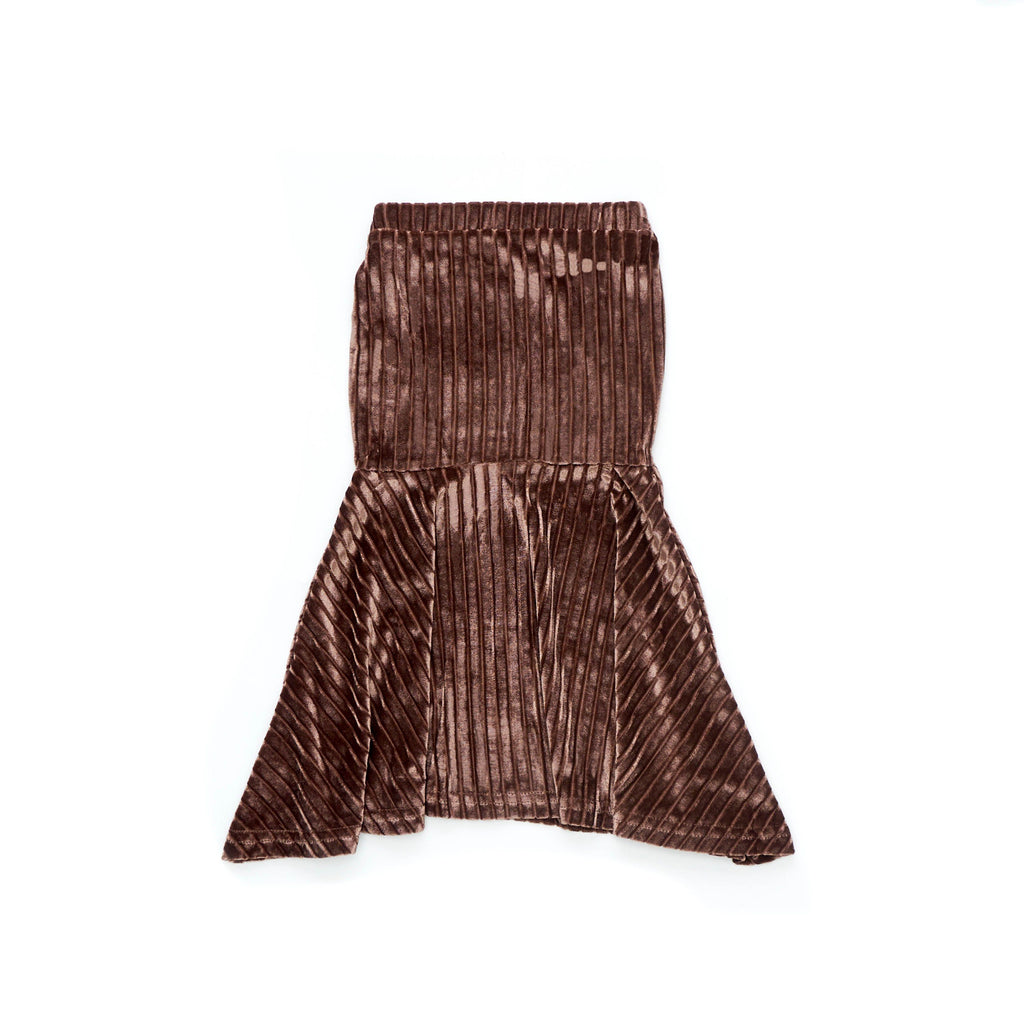 The Cerita Mermaid Skirt - French Roast
