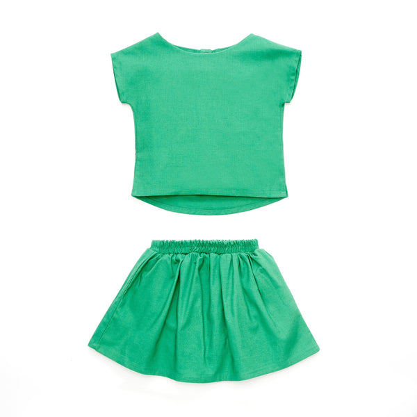 The Cerita Babies Mini Kurung - Pandan Green