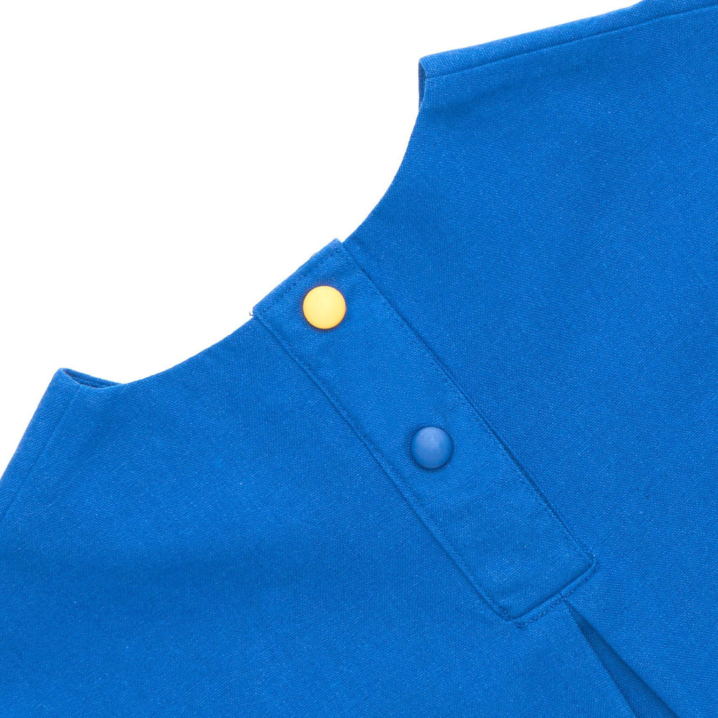 The Cerita HI-LO Blouse - Royal Blue