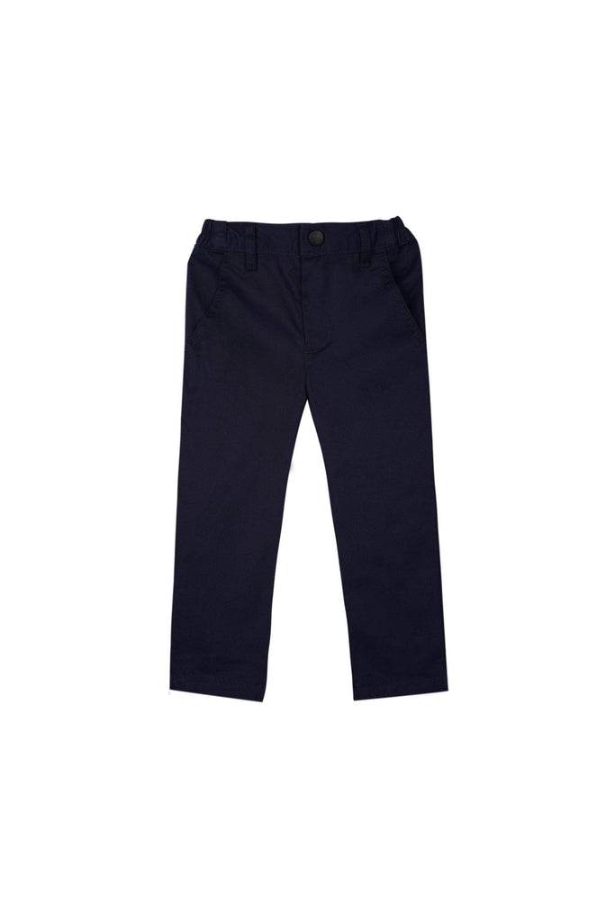 The Teratai Slim Pants - Navy Blue - POKOKS.COM