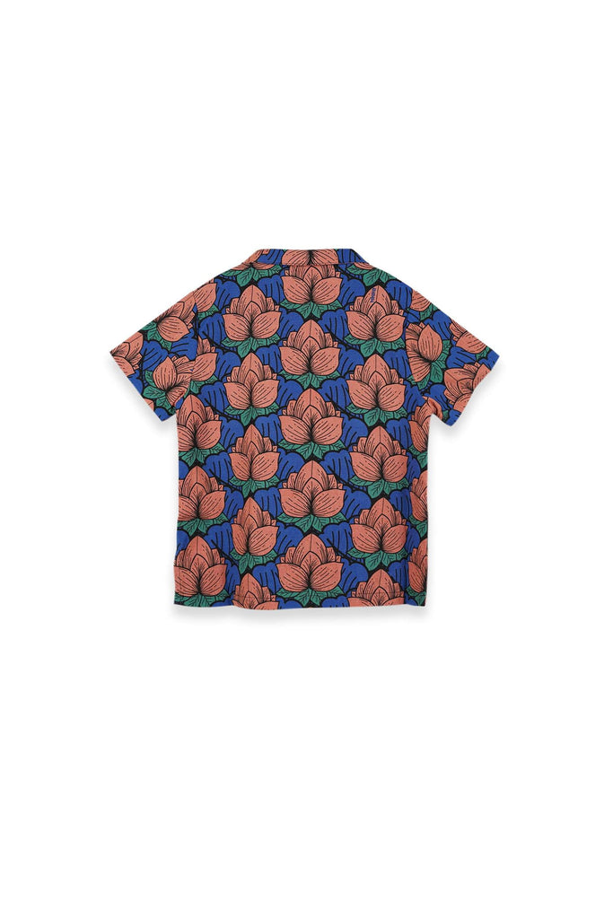 The Teratai Cuban Shirt - Secret Pond - POKOKS.COM
