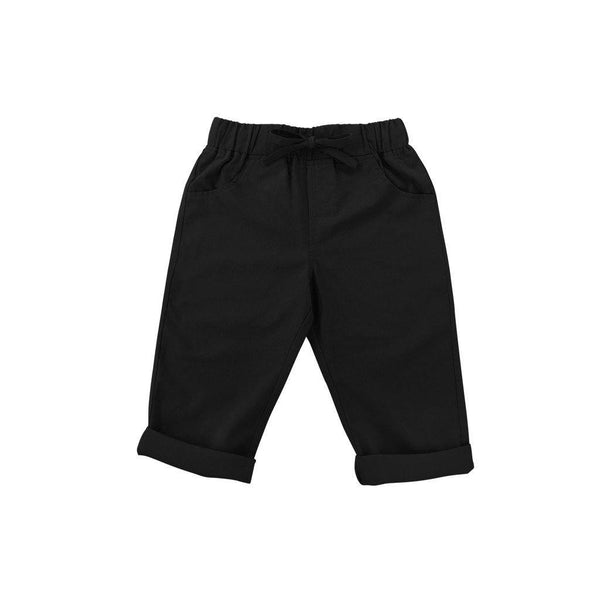 The Serai Unisex Tapered Pants - Black