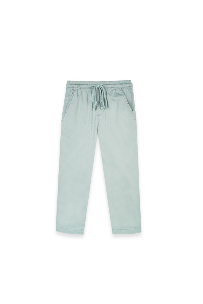 The Oasis Slim Pants - Vegan Green