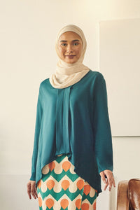 Rasa Sayang Women Kebaya Blouse - Emerald Green