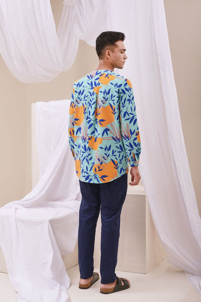 The Nari Men Kurta - Glory Print