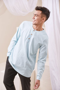 The Nari Men Kurta - Light Blue