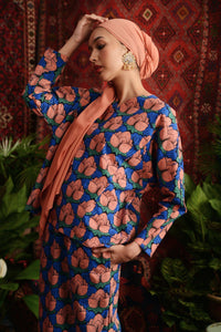 The Teratai Women Kite Blouse - Secret Pond
